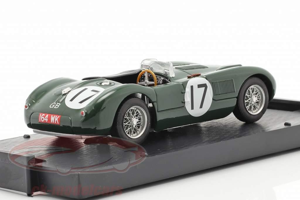 Jaguar C-Type #17 2 ° 24h LeMans 1953 Moss, Walker 1:43 Brumm