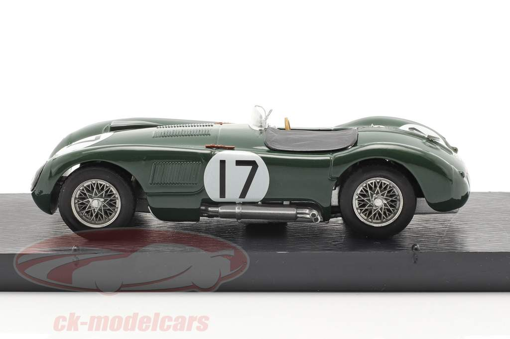 Jaguar C-Type #17 2nd 24h LeMans 1953 Moss, Walker 1:43 Brumm