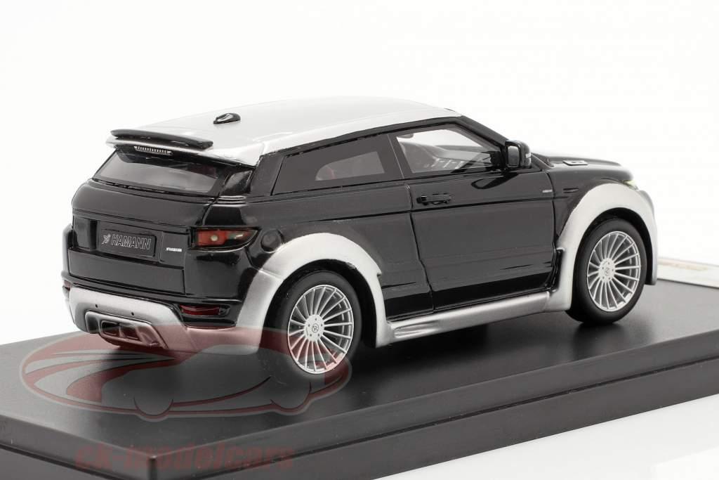 Range Rover Evoque ved Hamann År 2012 sort / sølv 1:43 Premium X