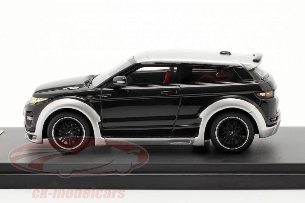 Range Rover Evoque par Hamann Année 2012 noir / argent 1:43 Premium X