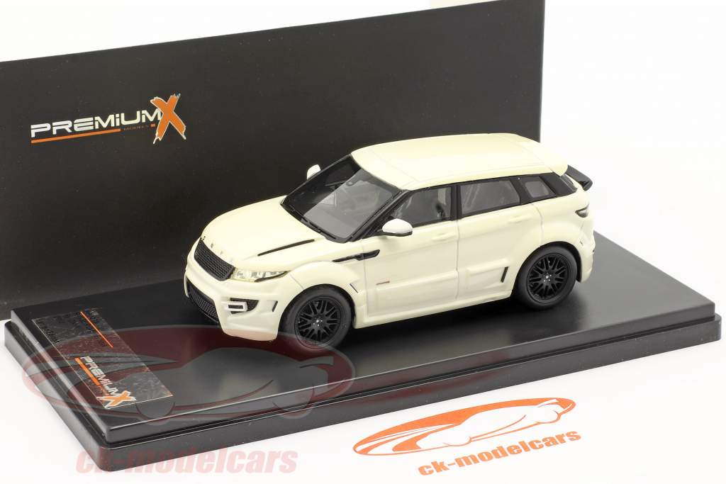 Range Rover Evoque by ONYX Year 2012 white 1:43 Premium X