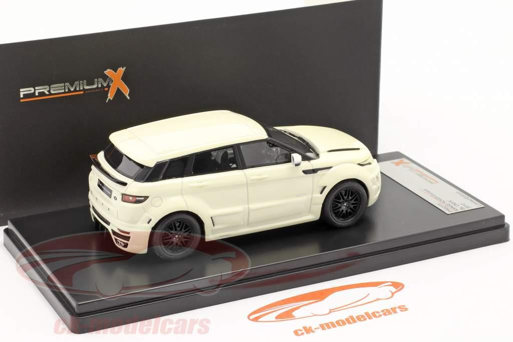 Range Rover Evoque ved ONYX År 2012 hvid 1:43 Premium X