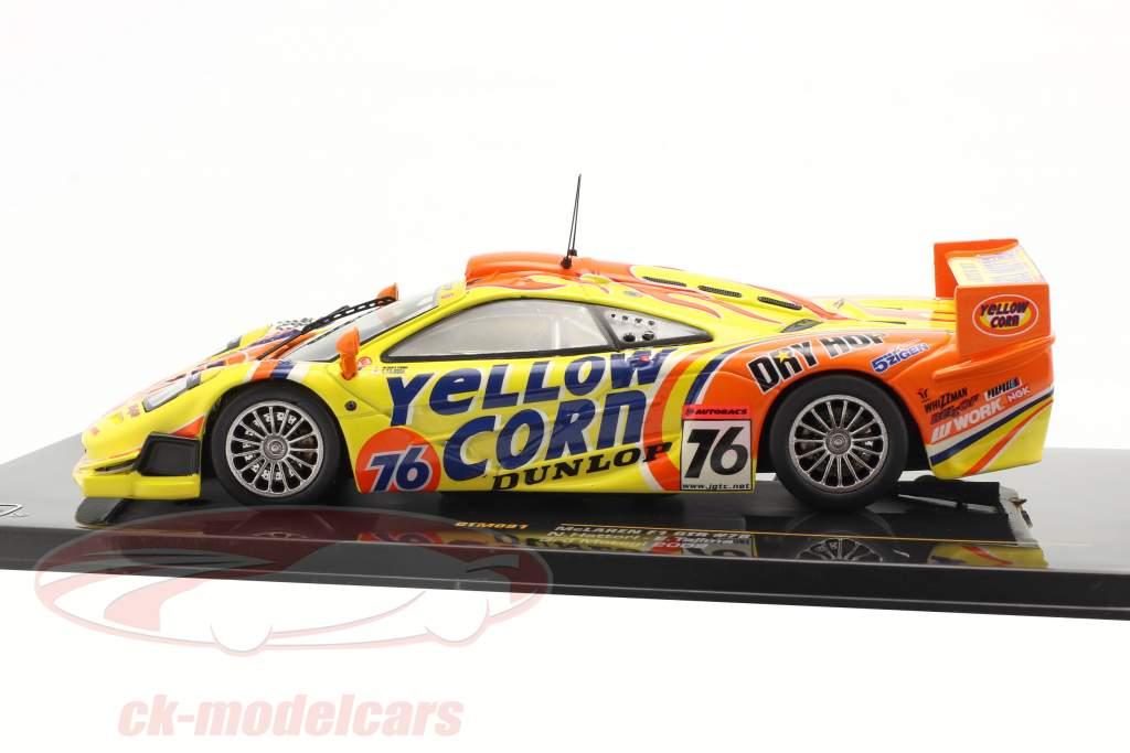 McLaren F1 GTR #76 3. Motegi 2002 Hattori / Tajima 1:43 Ixo