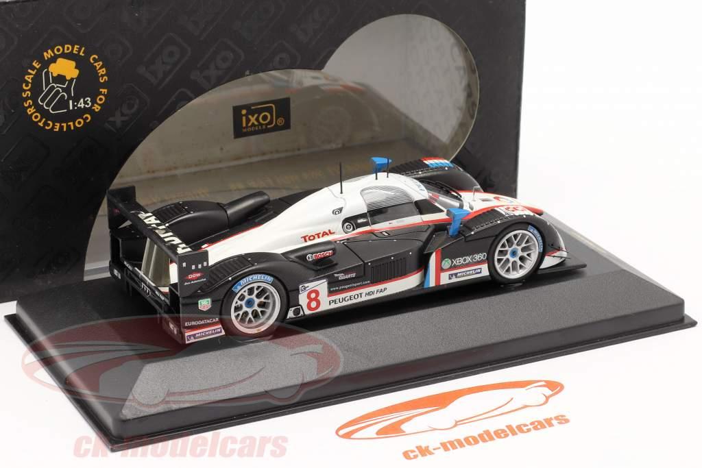 Peugeot 908 HDI FAP #8 Vainqueur Valencia 2007 P. Lamy / S. Sarrazin 1:43 Ixo