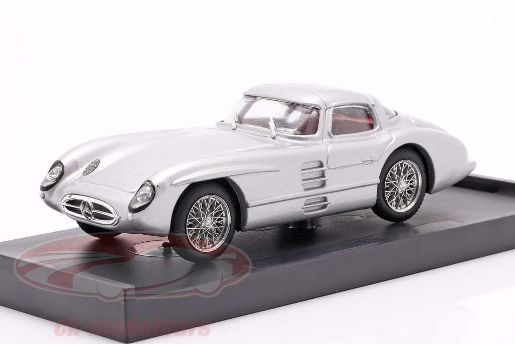 Mercedes-Benz 300 SLR Coupe Uhlenhaut Construction year 1955 silver 1:43 Brumm