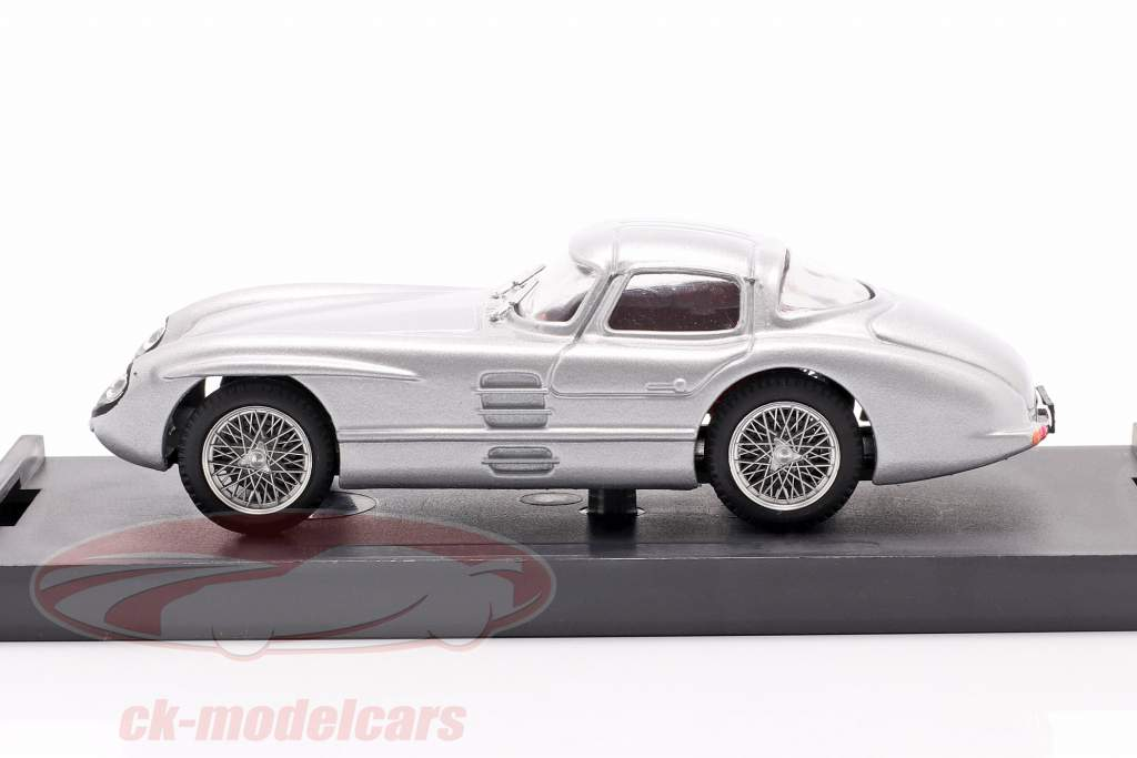 Mercedes-Benz 300 SLR Coupe Uhlenhaut Anno di costruzione 1955 argento 1:43 Brumm