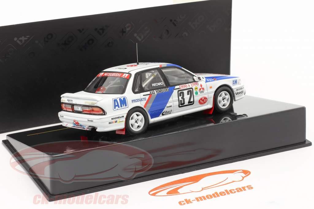 Mitsubishi Galant VR-4 Evo #32 Rally Monte Carlo 1990 1:43 Ixo
