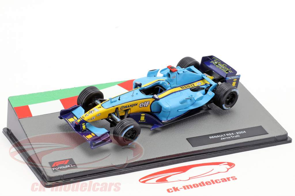 Jarno Trulli Renault R24 #7 formule 1 2004 1:43 Altaya