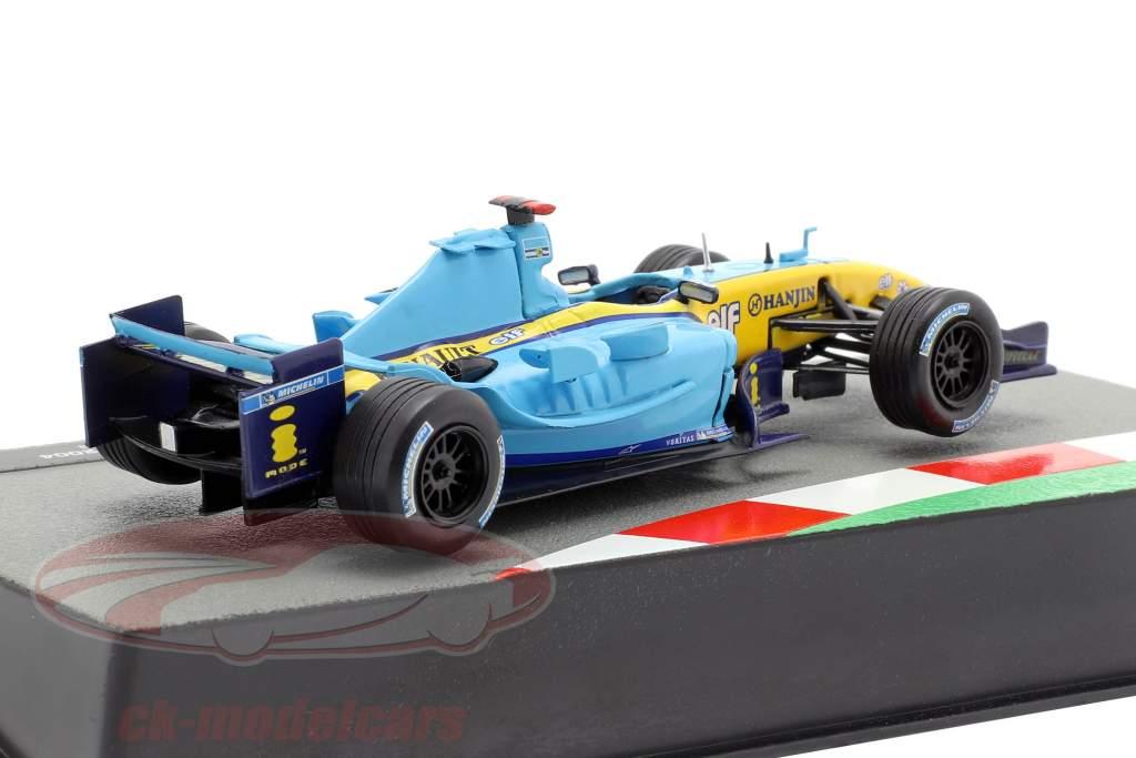 Jarno Trulli Renault R24 #7 formel 1 2004 1:43 Altaya