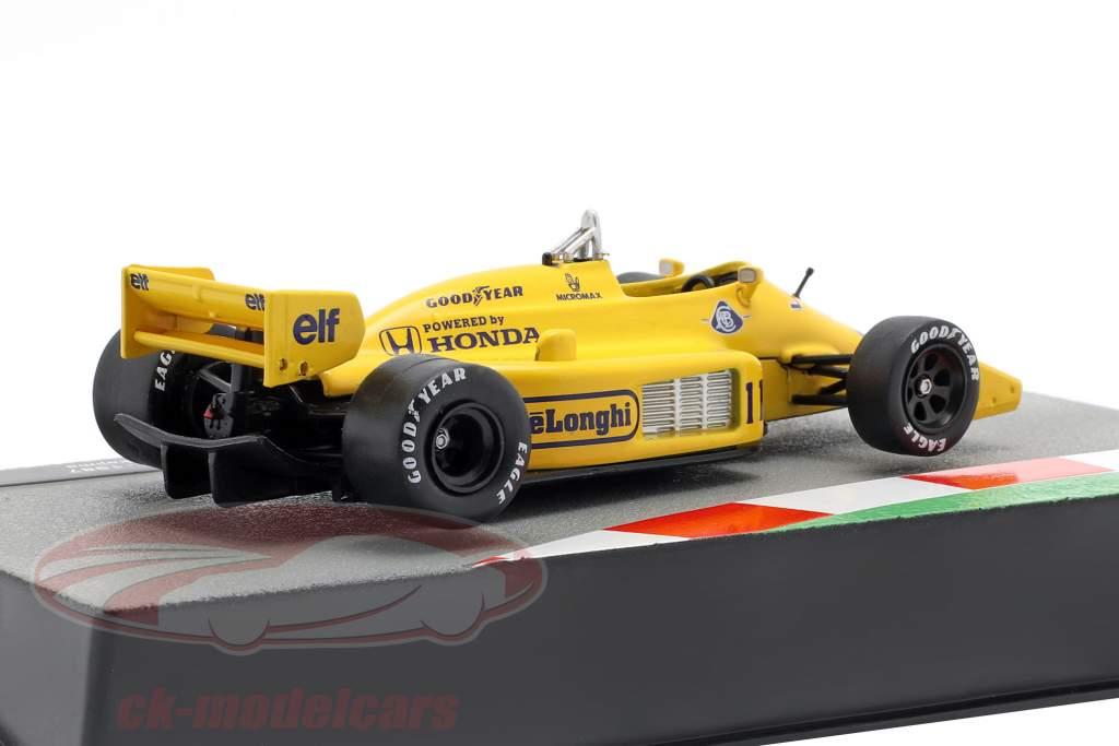 Satoru Nakajima Lotus 99T #11 formel 1 1987 1:43 Altaya