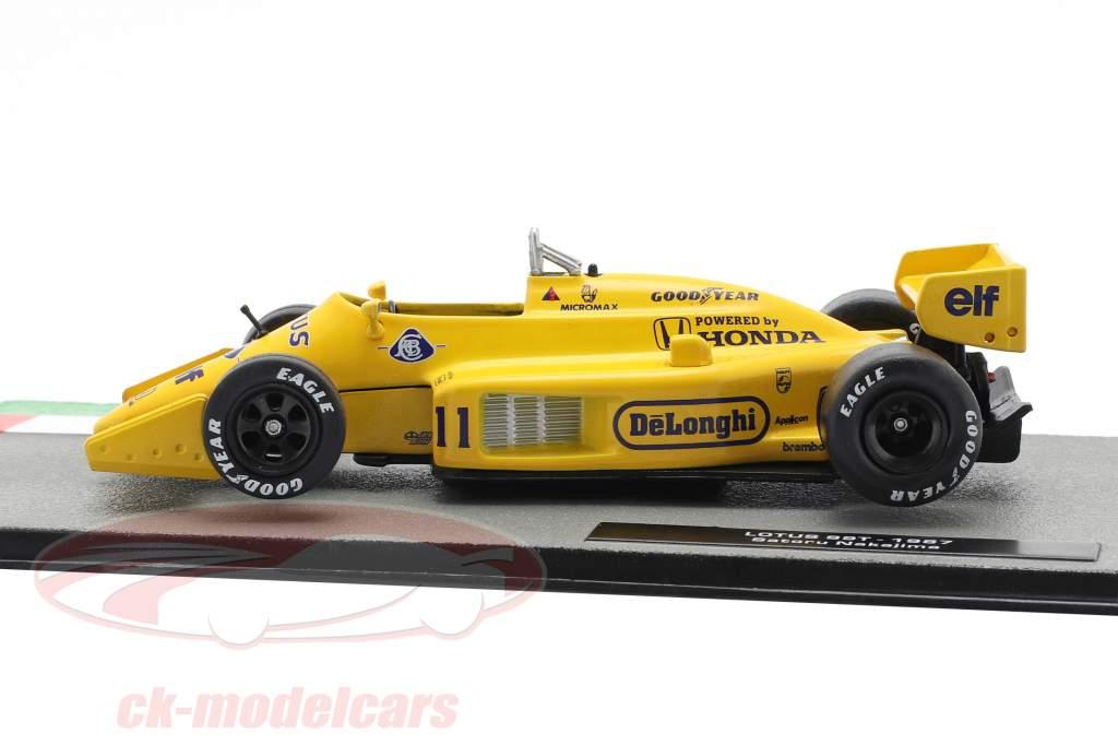 Satoru Nakajima Lotus 99T #11 formule 1 1987 1:43 Altaya