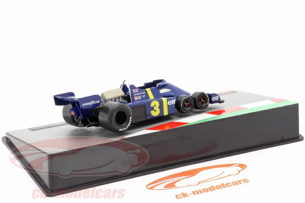 Jody Scheckter Tyrrell P34 #3 fórmula 1 1976 1:43 Altaya