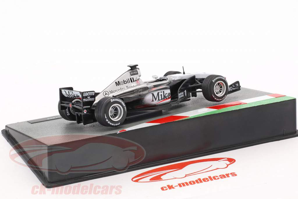 Mika Häkkinen McLaren MP4/14 #1 fórmula 1 Campeón mundial 1999 1:43 Altaya