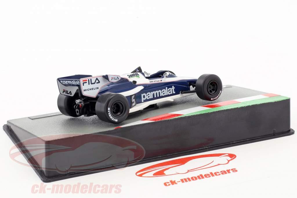 Nelson Piquet Brabham BT52B #5 formula 1 Campione del mondo 1983 1:43 Altaya
