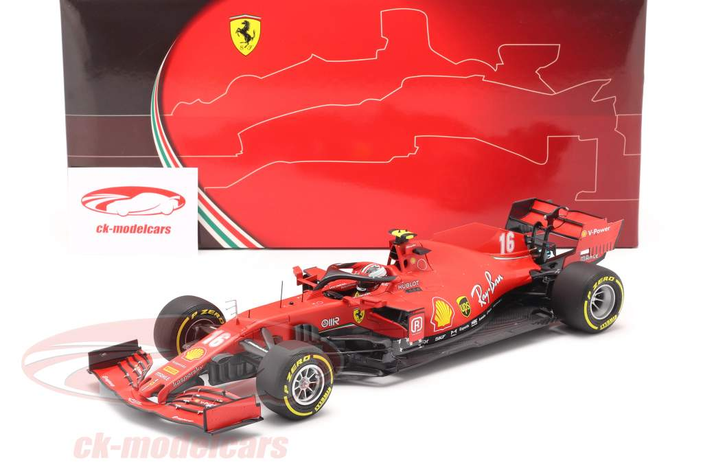Charles Leclerc Ferrari SF1000 #16 2. plads Østrigsk GP formel 1 2020 1:18 BBR