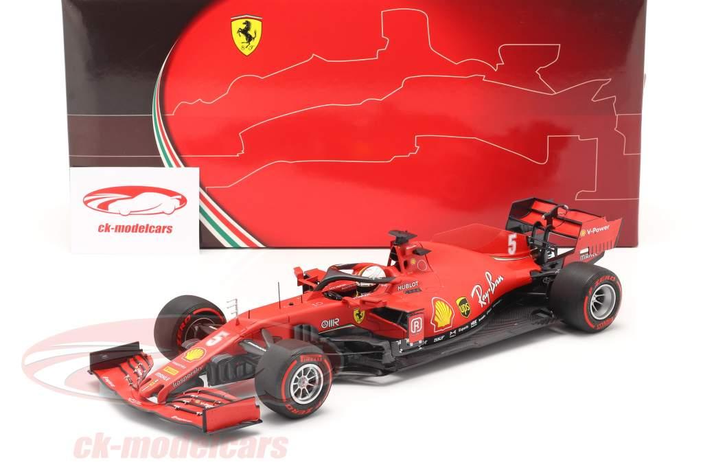Sebastian Vettel Ferrari SF1000 #5 autrichien GP formule 1 2020 1:18 BBR