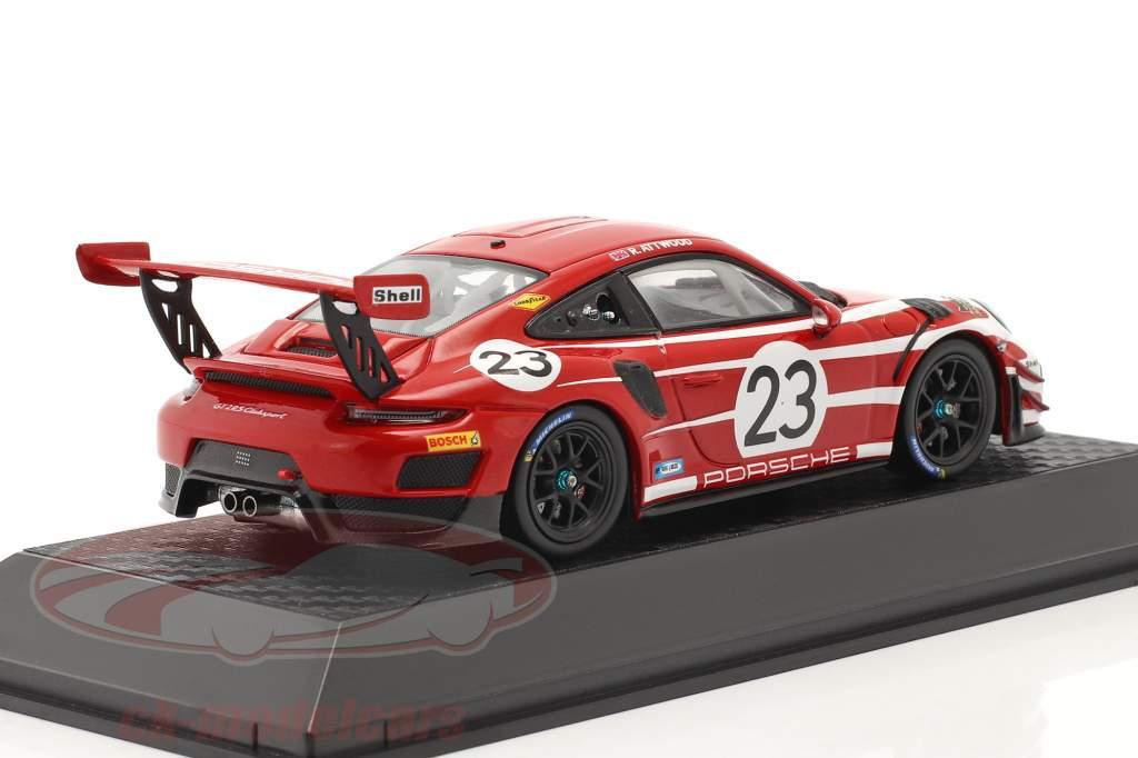 Porsche 911 (991 II) GT2 RS Clubsport Salsburgo diseño taxi Leipzig 1:43 Spark