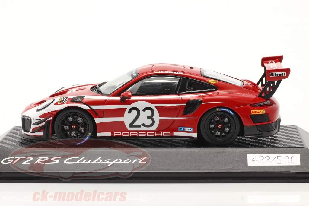 Porsche 911 (991 II) GT2 RS Clubsport Salisburgo design Taxi Lipsia 1:43 Spark