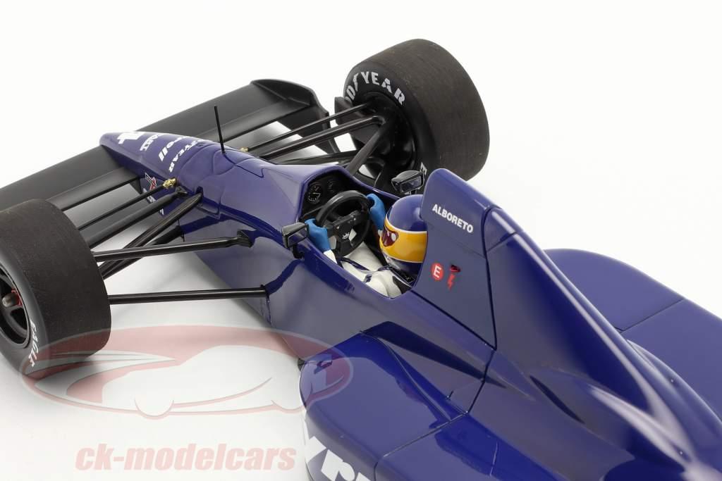 Michele Alboreto Tyrrell 018 #4 Tercero mexicano GP fórmula 1 1989 1:18 Minichamps