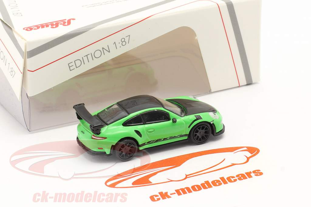 Porsche 911 (991) GT3 RS vert / noir 1:87 Schuco