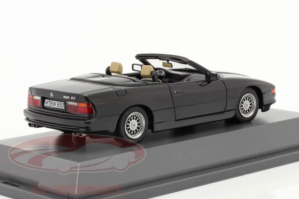 BMW 850 CI Conversível (E31) Preto 1:43 Schuco