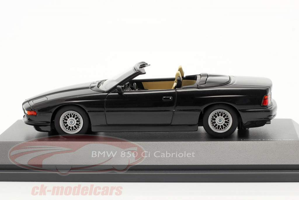 BMW 850 CI Convertible (E31) noir 1:43 Schuco