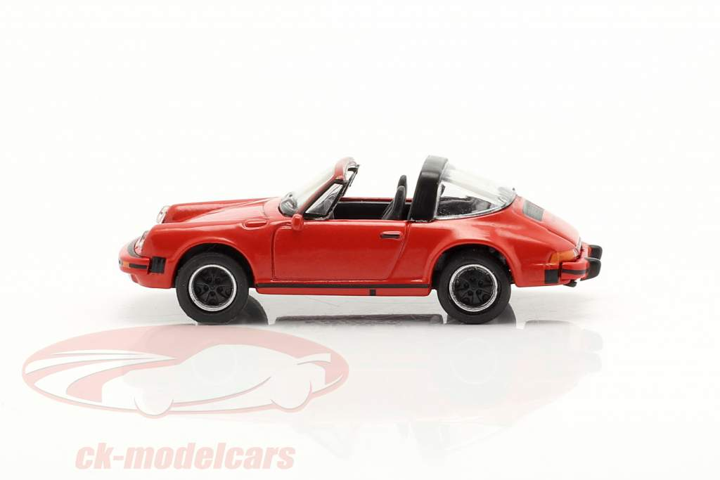 Porsche 911 Carrera 3.2 Targa rouge 1:87 Schuco