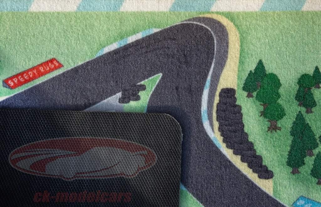 Tapis de jeu Hockenheimring 150 x 90 Pour escalader 1:43 / 1:64 / 1:87 Speedy Rugs