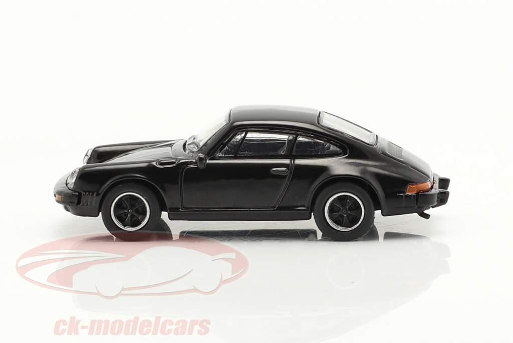 Porsche 911 Carrera 3.2 Coupe noir 1:87 Schuco