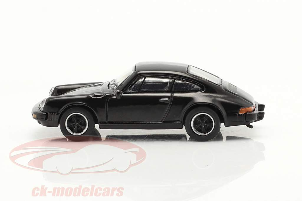 Porsche 911 Carrera 3.2 Coupe zwart 1:87 Schuco