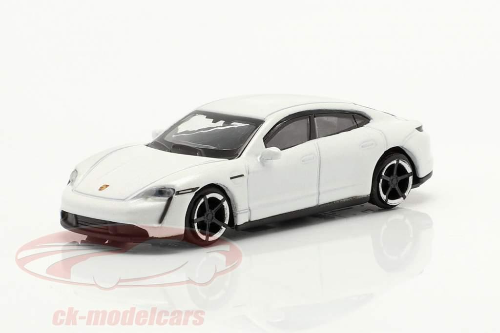 Porsche Taycan Turbo S blanc 1:87 Schuco