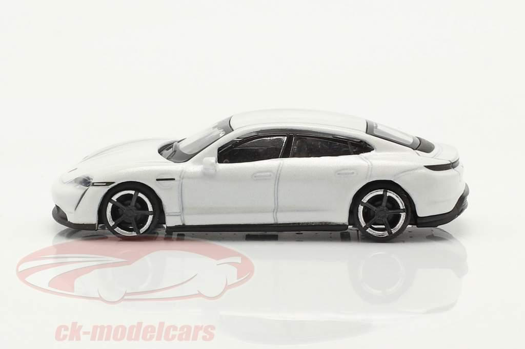 Porsche Taycan Turbo S Wit 1:87 Schuco