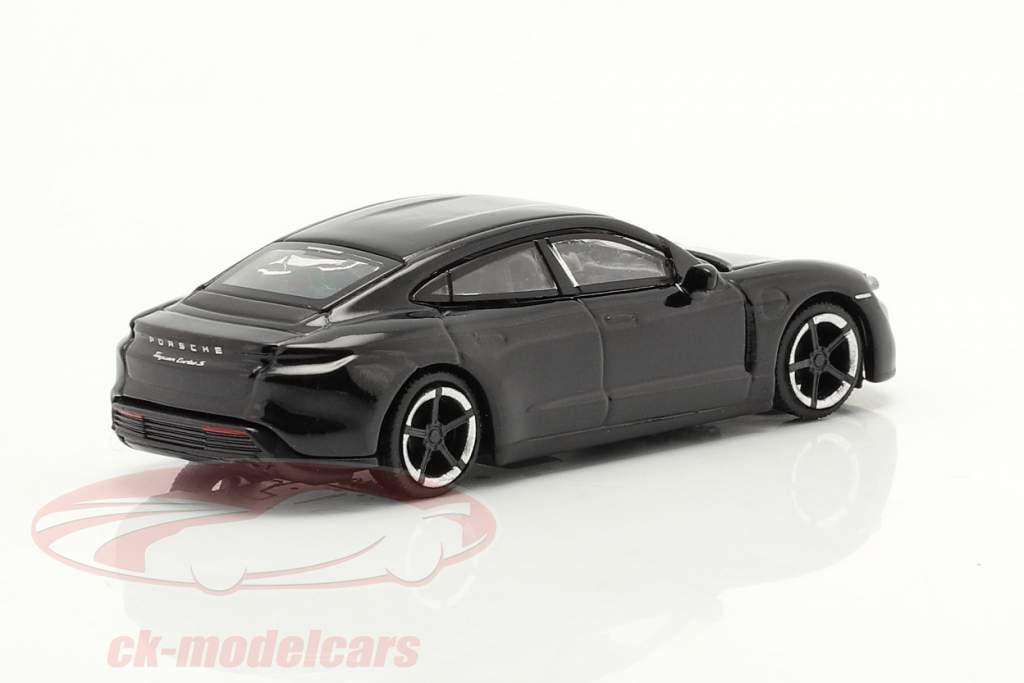Porsche Taycan Turbo S  zwart 1:87 Schuco