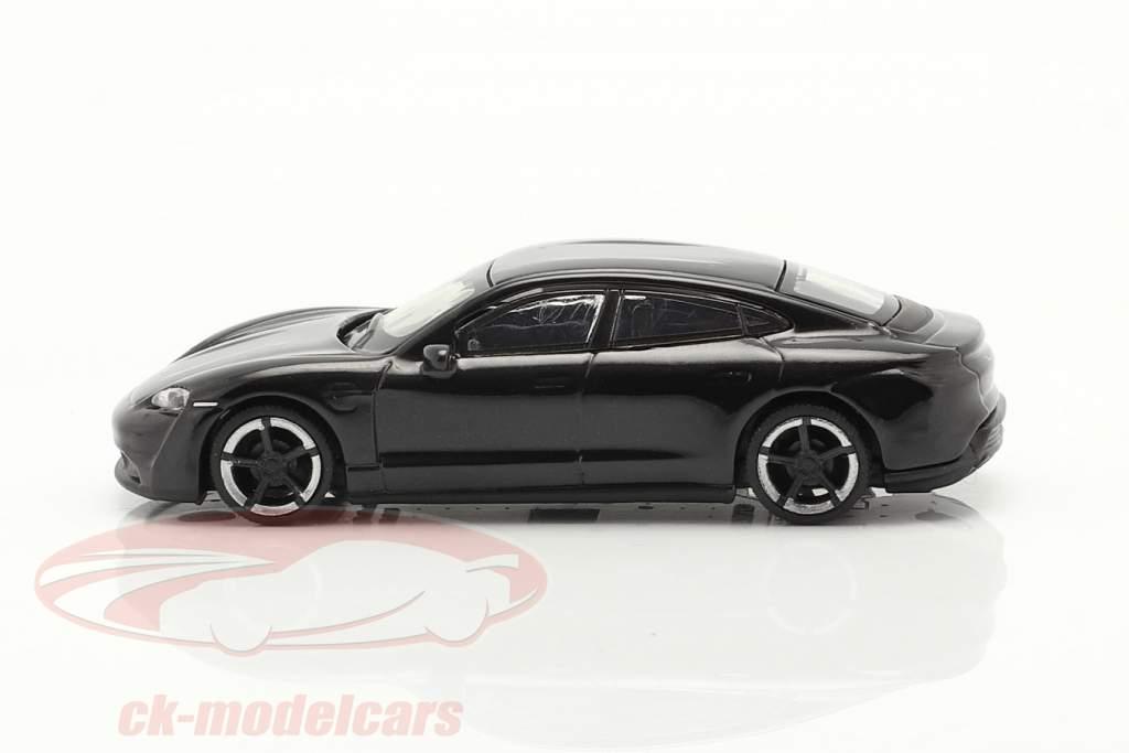 Porsche Taycan Turbo S  sort 1:87 Schuco