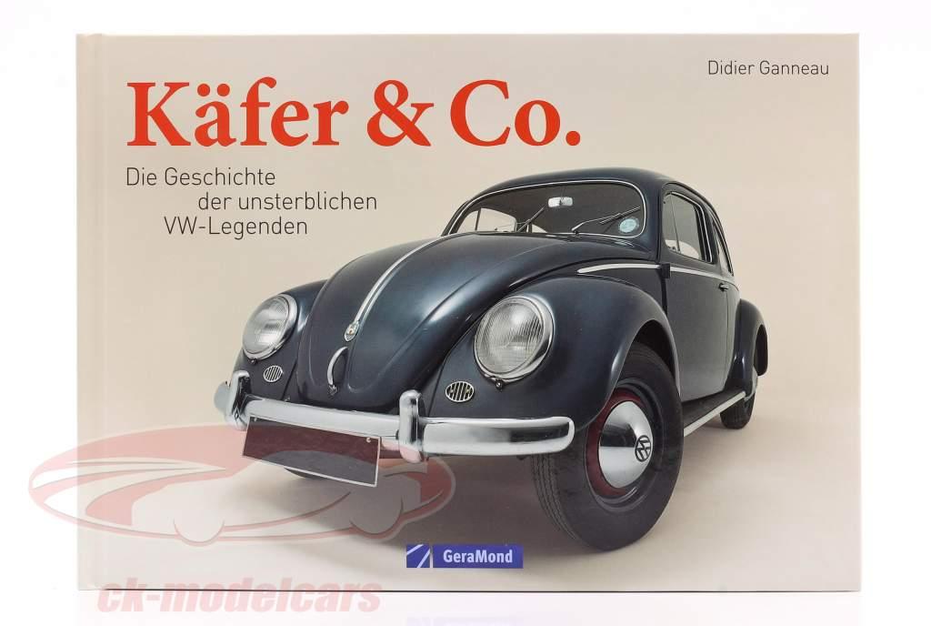 Boek: Kever & Co. - De geschiedenis van de onsterfelijk VW-legendes