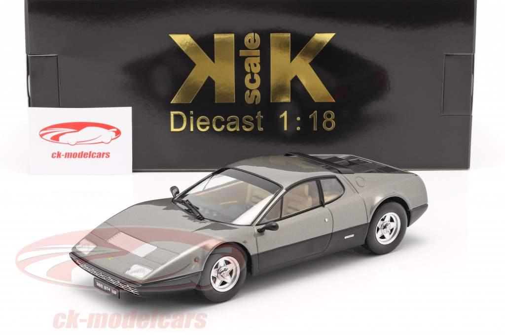 Ferrari 365 GT4 BB Año de construcción 1973 gun-metal 1:18 KK-Scale