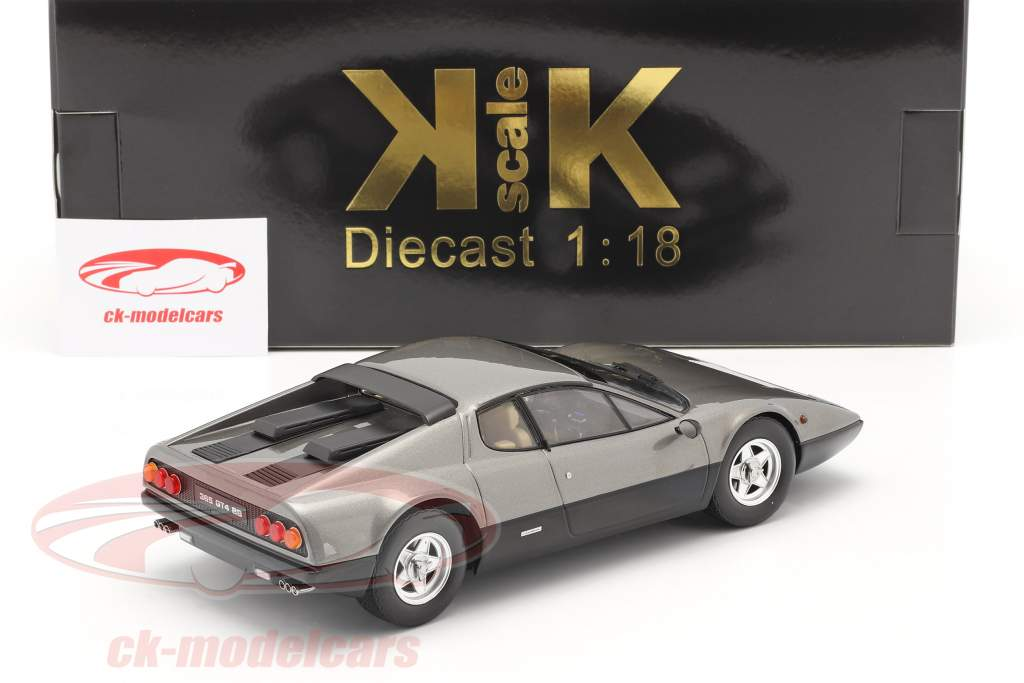 Ferrari 365 GT4 BB Baujahr 1973 gun-metal 1:18 KK-Scale