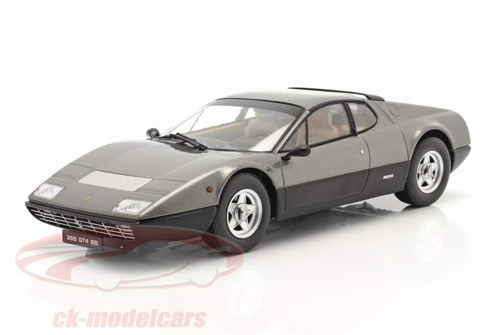 Ferrari 365 GT4 BB Byggeår 1973 gun-metal 1:18 KK-Scale