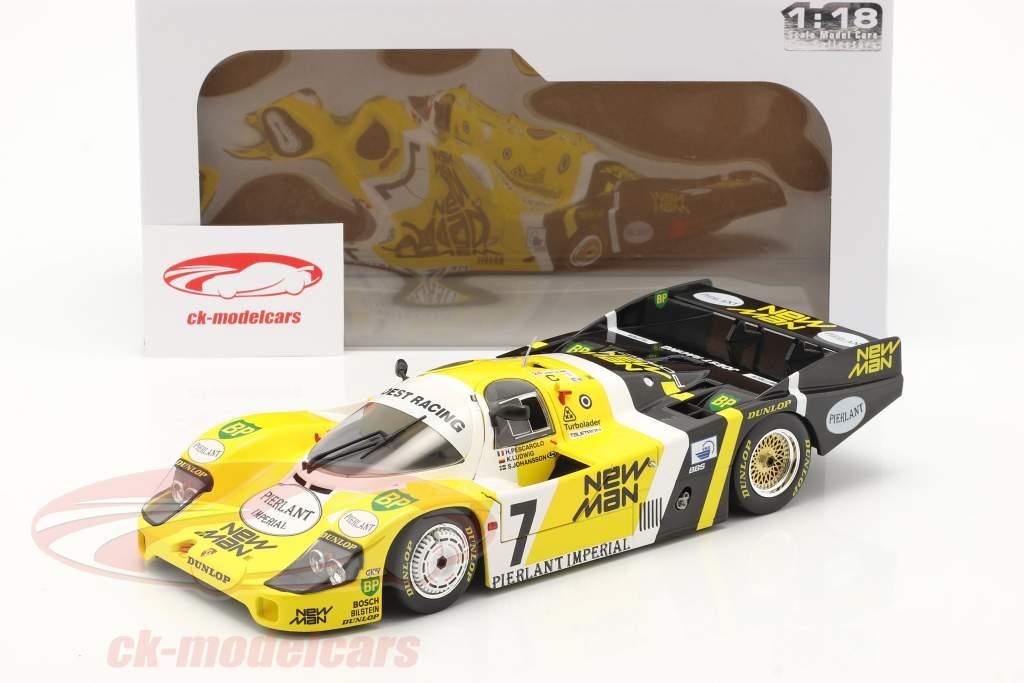 Porsche 956B #7 vincitore 24h LeMans 1984 Pescarolo, Ludwig 1:18 Solido