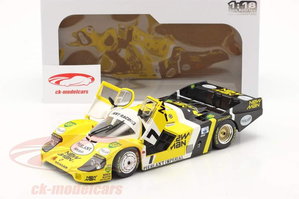 Porsche 956B #7 vencedora 24h LeMans 1984 Pescarolo, Ludwig 1:18 Solido