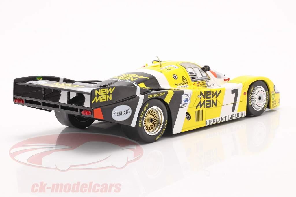 Porsche 956B #7 winnaar 24h LeMans 1984 Pescarolo, Ludwig 1:18 Solido