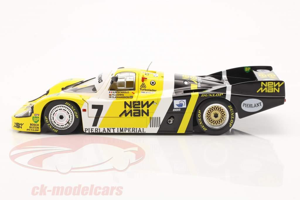 Porsche 956B #7 vinder 24h LeMans 1984 Pescarolo, Ludwig 1:18 Solido