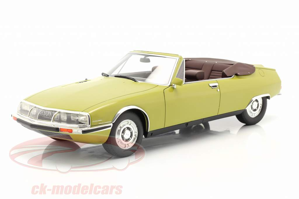 Citroen SM Mylord Convertible by Chapron 1971 grün 1:18 Cult Scale