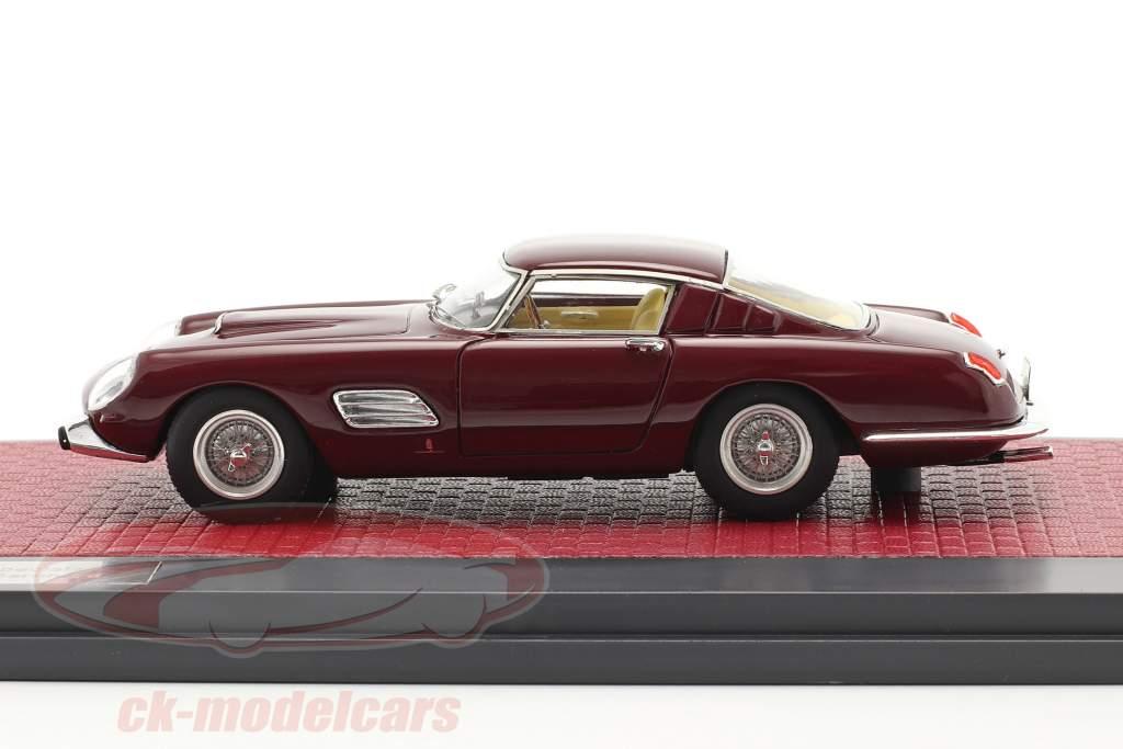 Ferrari 250 GT Speciale Pininfarina Príncipe Bernhard 1965 granate 1:43 Matrix