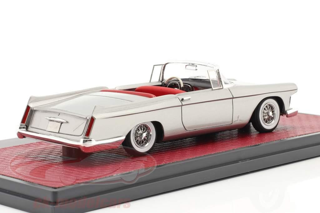 Cadillac Skylight Pininfarina Open Convertible 1959 sølv 1:43 Matrix