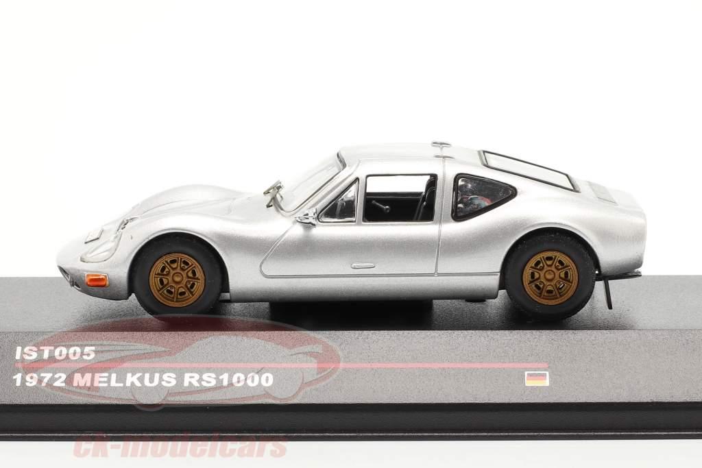Melkus RS1000 year 1972 silver 1:43 IST-Models
