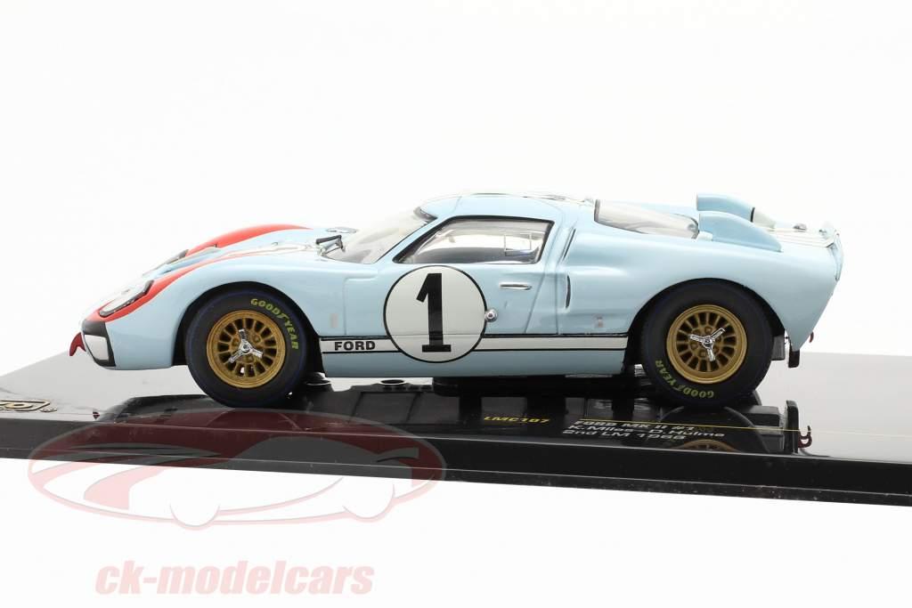 Ford MK II #1 24h LeMans 1966 Miles, Hulme 1:43 Ixo