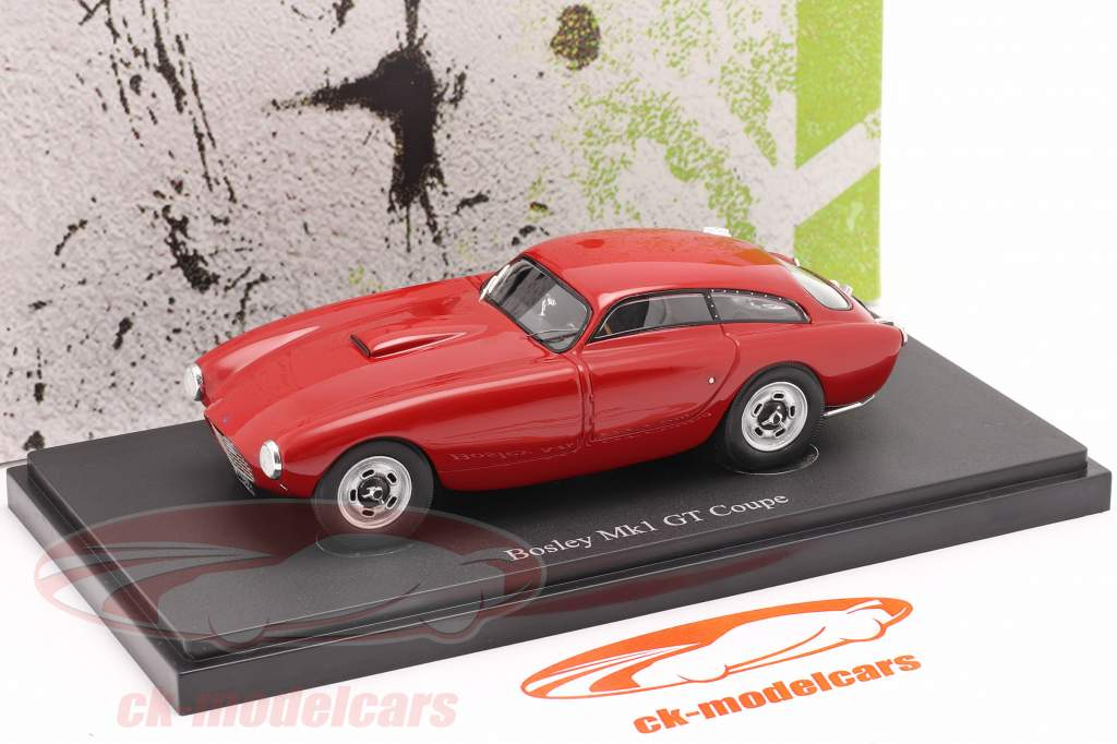 Bosley Mk1 GT Coupe Byggeår 1955 rot 1:43 AutoCuilt