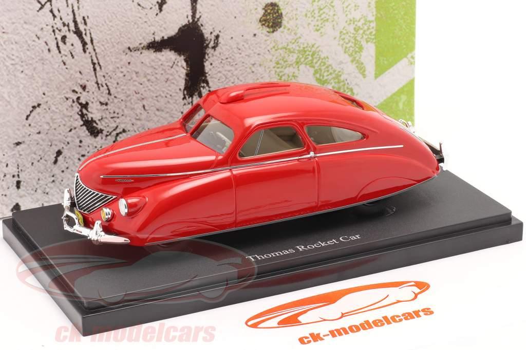 Thomas Rocket Car anno 1938 rosso 1:43 AutoCult