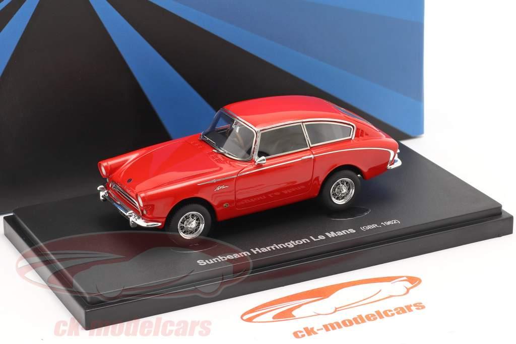 Sunbeam Harrington Le Mans Año de construcción 1962 rojo 1:43 AutoCult